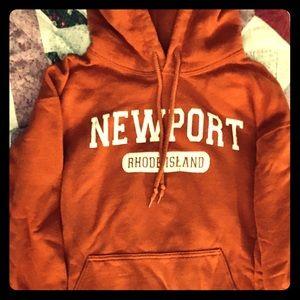 Orange, Newport, Rhode Island Hoodie!